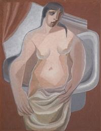 devant la baignoire by juan gris