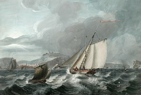 shipping off dover by adam callander