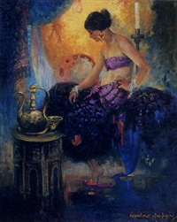 a mediterranean woman by oscar theodore jackman