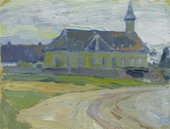 kirche by lyonel feininger