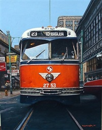 a face only a trolley fan could love by tony fachet