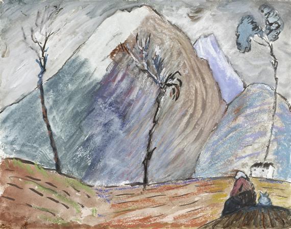 monte tamaro by marianne werefkin