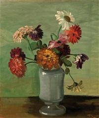 fleurs dans un vase by andré derain