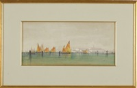 view of san giorgio maggiore, venice by william stanley haseltine