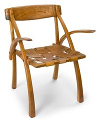 a wishbone armchair by arthur espenet carpenter