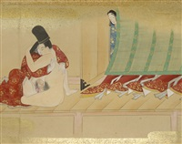 shunga by anonymous-japanese (edo period)