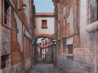 jewish quarter toledo, spain by rugero valdini