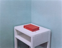 ai, bible and table, blyth services, nottinghamshire by paul graham