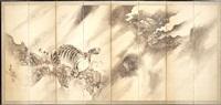 tiger and dragon (in 6 parts) by kishi ganku