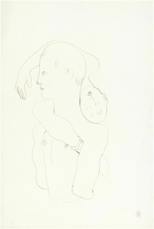 e5078d46a82 Etude pour le livre blanc from sketchbook by Jean Cocteau on artnet