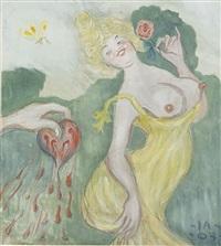 hjärtekrosserskan by ivar arosenius