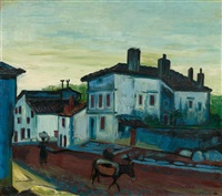 morgen in hendaye by max pechstein
