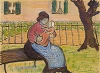 mutter mit kind by marianne werefkin