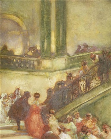 maskenball by gaston la touche