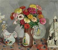 vase de fleurs by léon de smet