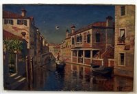 venetian canal by william (will.) anderson