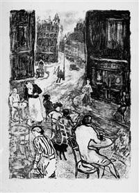 d'après paris (bk by léon paul fargue w/16 works) by jean louis boussingault