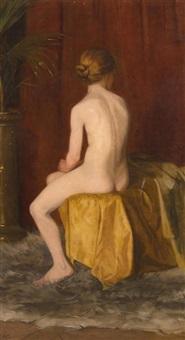 sitzender akt by betsy repelius