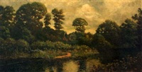 mapledurhan-thames, england by william (will.) anderson