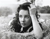 elizabeth taylor on the set of giant by peter basch
