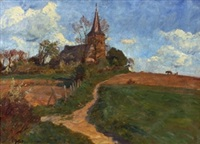kirche in der eifel by carl jutz the younger