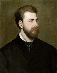 portrait eines aristokraten (herzog von pistohlkors?) by johann köler