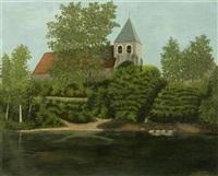 l'église de cheny by camille bombois