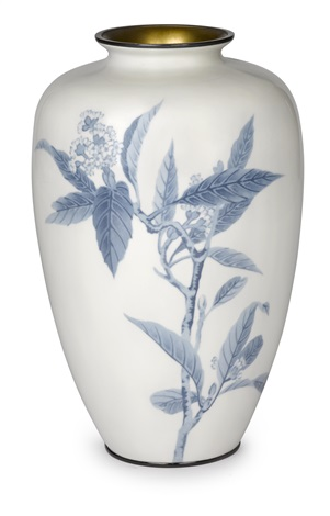 A Vase By Ando Cloisonne Co On Artnet