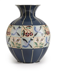 a vase by ando cloisonne (co.)