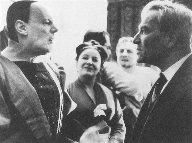 gustav gründgens boris pasternak moskau 1960 by hilmar pabel