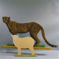 sheep and jaguar by mo mcdermott