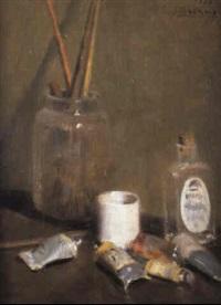 bodegón del pintor by joaquim asensio