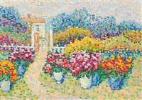le jardin de la villa à la hune, st. tropez by jeanne selmersheim-desgranges