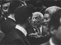 pablo picasso, 80. geburtstag, nizza 1961 by hilmar pabel