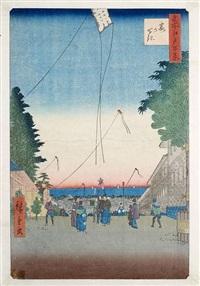 zwei ôban-tate-e by ando hiroshige