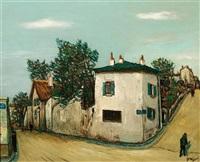 la rue du mont cenis à montmartre by alphonse léon quizet