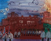 st. james's palace by raoul dufy