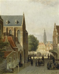 stadtansicht by john frederik hulk the younger