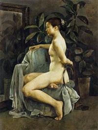 有橡皮树的画室 by guo runwen