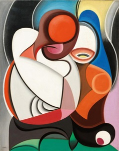 artwork by auguste herbin