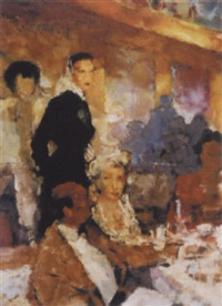 im restaurant by fritz krebs