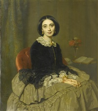 portrait der signora borghese by rudolf w. a. lehmann