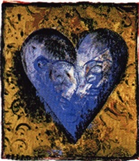 heart iii by jim dine