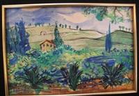 paysage de provence by raoul dufy