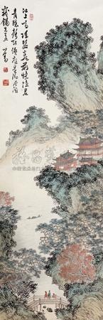 江山楼阁图 by pu ru