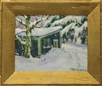 my winter studio by henry ryan macginnis