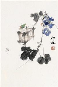 秋趣图 立轴 水墨纸本 by xiao lang