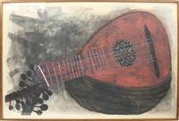 lute #1, 1957 by ben shahn