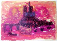 notre dame by christian kruck