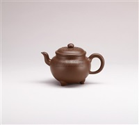 teapot decorated with cloud patterns by xu yanchun